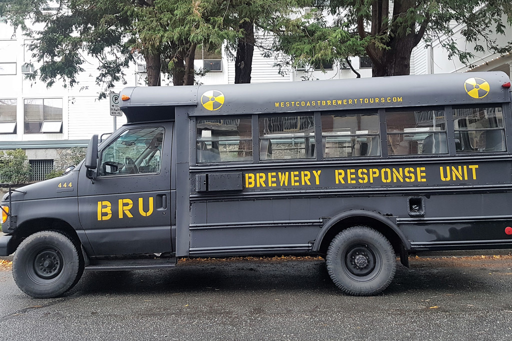 Brew Bus West Coast Brewery